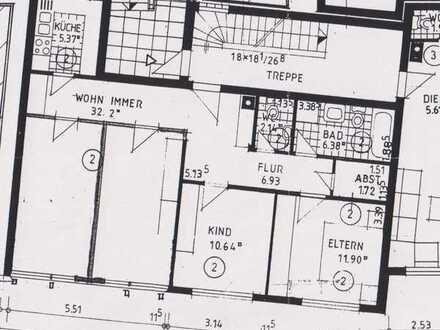 Gepflegte 3-Raum-Wohnung in Buchen (Odenwald)