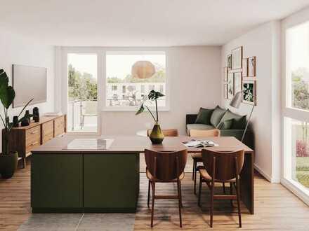 4-Zi.-Wohnung mit flexibler Wohnraumgestaltung, 2 Bädern und Dachterrasse im beliebten Nordenstadt