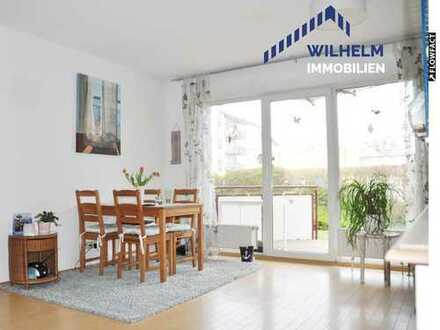 Hübsche 3-Zimmer-Wohnung mit Balkon und 2 Stellplätzen in zentraler Toplage von Langen