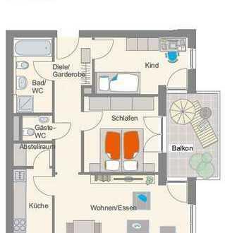 Moderne 3,5-Zimmer-Wohnung in Besigheim