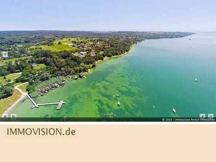 Se(e)ltenheit: direktes Seeufer-Grundstück in Perfektion