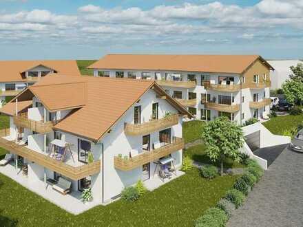 Neubau 3-Zimmerwohnung - 1. Obergeschoss in Aitrang