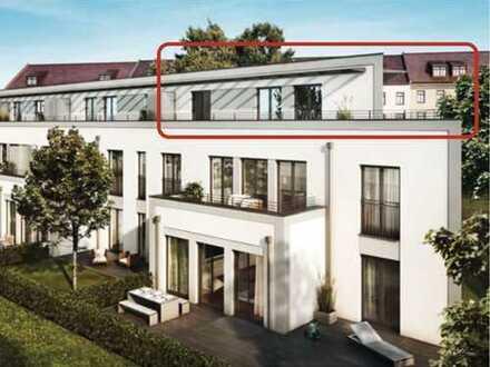 Stilvolle, neuwertige 2-Zimmer-DG-Wohnung mit Großer Sonnen Terasse und Einbauküche