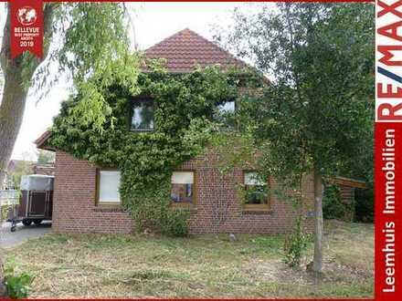 Gemütliche 4-Zimmer Oberwohnung * saniert * ruhige Lage* Nähe Papenburg * Weener * auch für Monteure