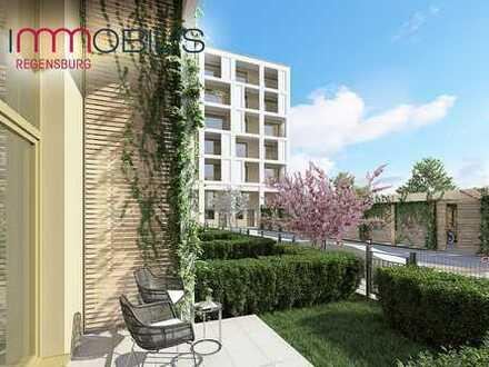 Wohnen an der Uni - Top 2 Zi-Galerie-Wohnung mit Terrasse