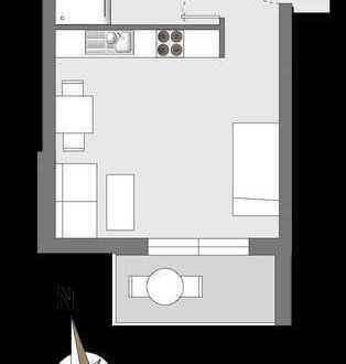 HAUS°54: Eigentumswohnung mit Balkon und Gartenblick (Süden)
