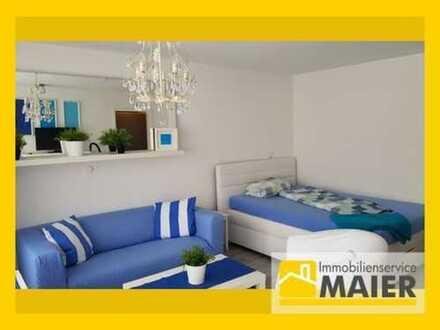 S-Stammheim - Sonniges 1-Zimmer-Appartement mit Balkon – möbliert!