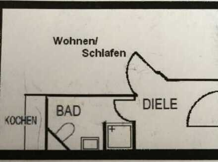 Nachmieter für 1-Zimmer-Wohnung in Köln Niehl gesucht