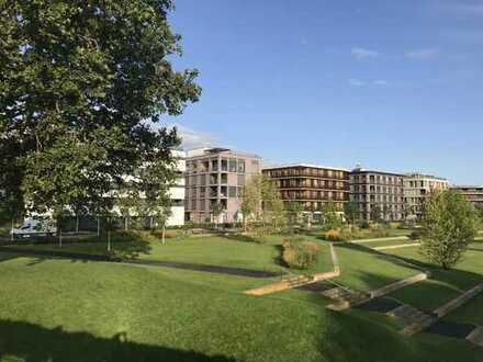 Wohnen auf der BUGA, direkt am Neckar! Erstbezug mit EBK: exklusive 3,5-Zimmer-Wohnung
