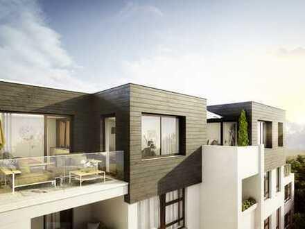 Neue wunderschöne Dachgeschosswohnung mit Südbalkon - U-Bahn direkt vor der Haustür