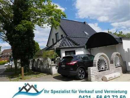 DEL-Deichhorst/Tiergarten: Großes Einfamilienhaus (5 Zimmer) mit großzügiger Terrasse und Garage.