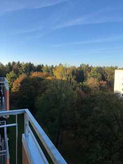 Möblierte Traumwohnung über den Dächern von München mit Blick auf den Forstenrieder Wald