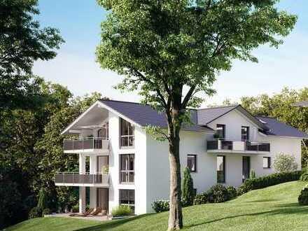 Jetzt Rohbaubesichtigung: 4-Zimmer-Garten-Wohnung mit großzügigem Hobbykeller