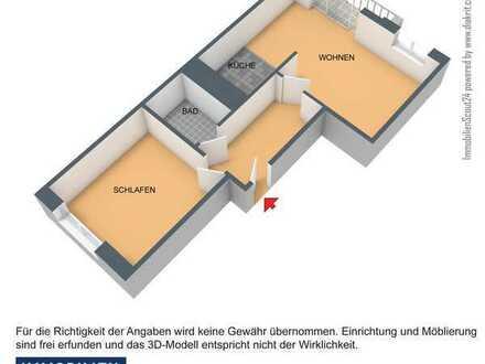 kleine Single - Wohnung im Erdgeschoss
