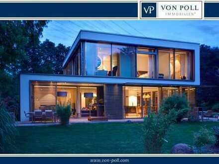 Puristische Villa mit Weitblick am Wasser!