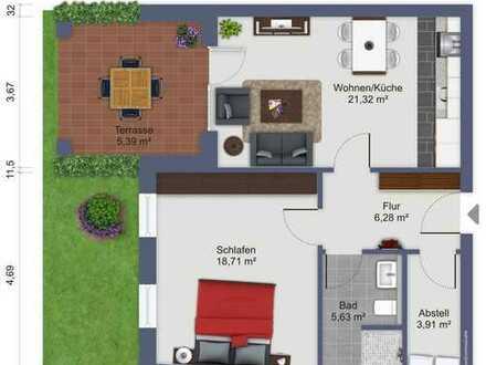 Neubau! Eigentumswohnung im Erdgeschoss