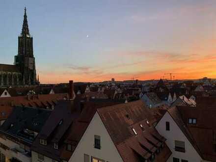 Erstbezug: exklusive 3-Zimmer-Maisonette-Wohnung mit Balkon und Münsterblick