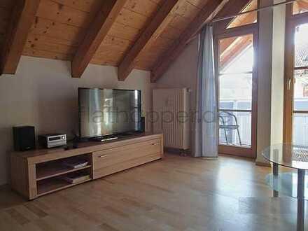 3-Zimmer-Wohnung im Dachgeschoss mit 2 Balkonen in Obing - nahe Traunstein
