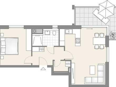 2-Zimmer Wohnung im 2. OG (105)