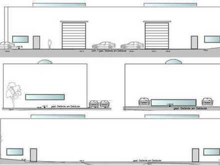 Vermietung einer Fläche in einer projektierten Produktionshalle