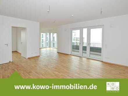 Exklusive 4-Raumwohnung mit Balkon, Echtholzparkett und Fußbodenheizung!