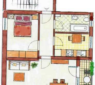 Stilvolle, möblierte 2-Zimmer-Wohnung mit Balkon in Karlsfeld (bevorzugt an MAN/MTU Mitarbeiter)