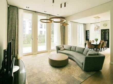 Luxus - Gartenwohnung mit Blick auf Dianasee- 3,40 m Deckenhöhe!