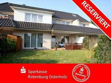 Bremen-Osterholz: Schicke Wohnung, ein eigener Garten und eine tolle Wohngegend - was will man mehr!