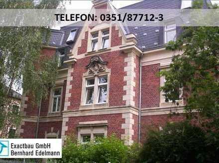 RUHIG gelegene 2-Zimmer-Wohnung mit Wohn-Essküche und Erker in Blasewitz