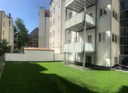 3 Zimmer Wohnung mit großem Balkon und Garten in der Ulmer Innenstadt