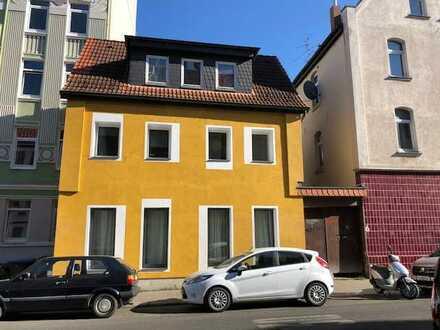 Einfamilienhaus mit Gewerbefläche in Hannover Linden-Mitte