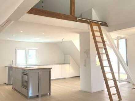 Erstbezug nach Sanierung: 5-Zimmer-Maisonette-Wohnung mit grosser Dachterrasse in Weil am Rhein