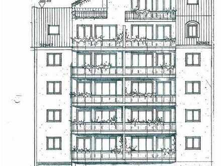 Chemnitz Baugrundstück mit Projektierung und Baugen. für ein MFH mit Gewerbe im Musikerviertel