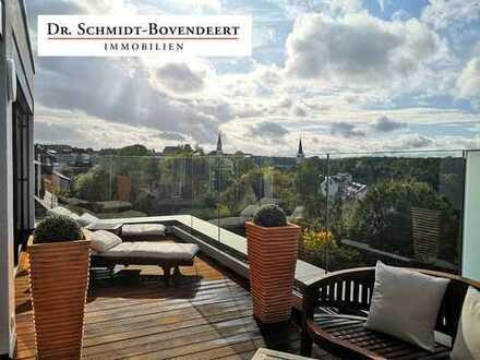 Außgewöhnliche Penthousewohnung mit 2 Dachterrassen im schönen Kastellaun!