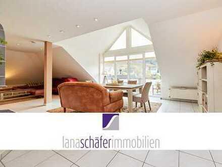 Wohnung mit Garten und Burgblick