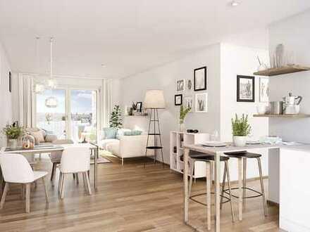Erstbezug mit Balkon: exklusive, günstig gelegene 2-Zimmer-Wohnung in Nürnberg
