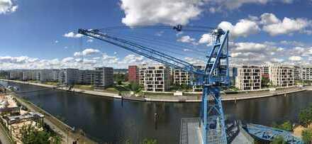 MARINAGARDENS am Offenbacher Hafen: Das Luxus-Neubau-Penthouse direkt am Blauen Kran