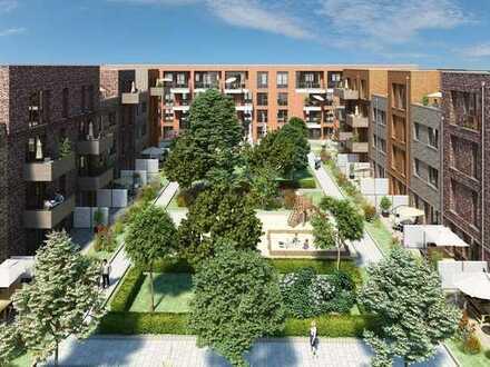 NEUES KAFFEEQUARTIER - Große 5-Zimmer-Maisonette-Wohnung mit Garten (H3)