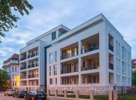 Moderne 4-Zimmerwohnung mit Balkon, Masterbad, Gäste-WC und TG in Gohlis-Süd!