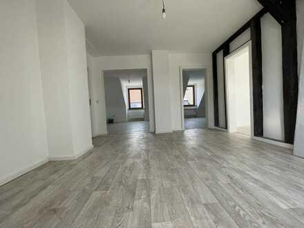 4-Zimmer mit Gemeinschaftsgarten, frisch renoviert