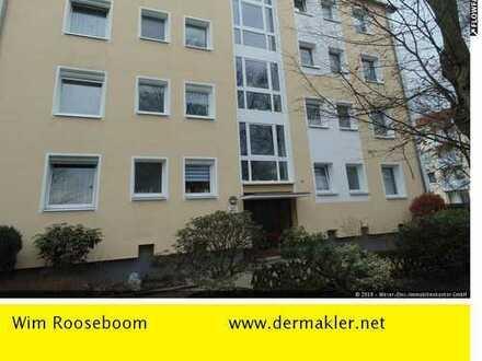 Bremen-Osterholz: 3 Zimmer Wohnung mit Garage