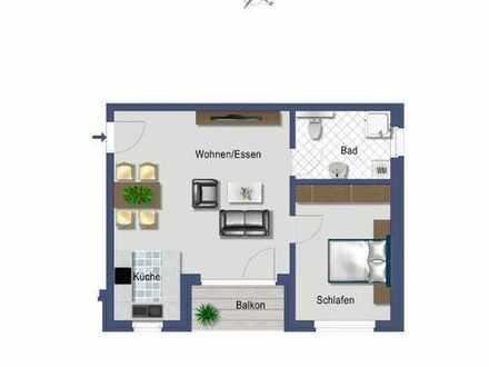 Die perfekte 2,5 Zimmer-Wohnung mit Balkon