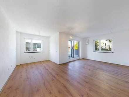 Erstbezug! Helle 4-Zimmer-Wohnung in ruhiger Lage mit Terrasse und Garten