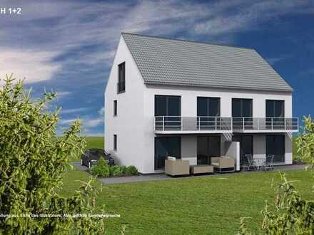 Nur noch eine attraktive Neubau-Doppelhaushälfte!