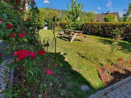 Schöne moderne 3 Zimmer Wohnung mit Terrasse und Garten in toller Lage in Gaildorf