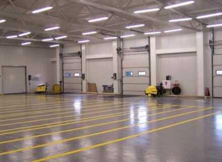 """BAUMÜLLER & CO."" ca. 2.000 m² Hallenfläche - Rampe + ebenerdig - SOFORT VERFÜGBAR"