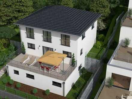 Neubauprojekt - Große Stadtvilla mit Blick auf Basel in Top Lage von Grenzach-Wyhlen