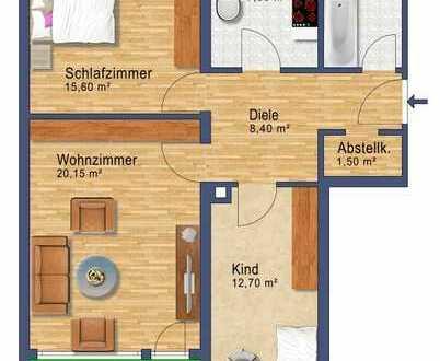 3-Zimmer-Wohnung in Feldmoching solide vermietet bzw. zur baldigen Eigennutzung