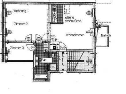 Bild_Modernisierte 3-Zimmer Wohnung mit Balkon in Schwedt