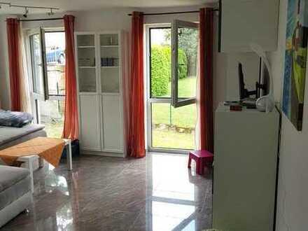 Sanierte Wohnung mit drei Zimmerwohnung mit Balkon und EBK in Obersontheim